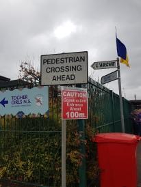 signs near school
