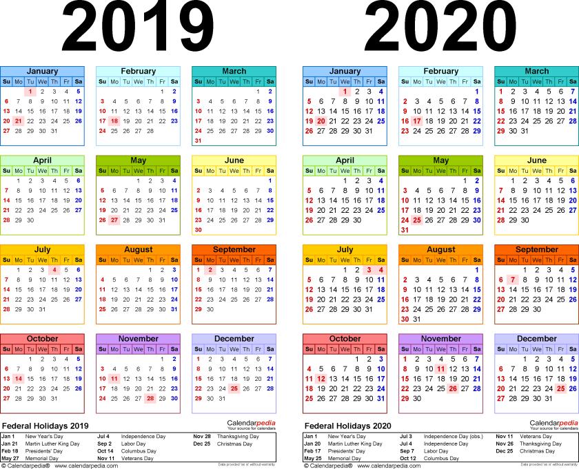 Calendar 2019-20 – Togher Boys' National School